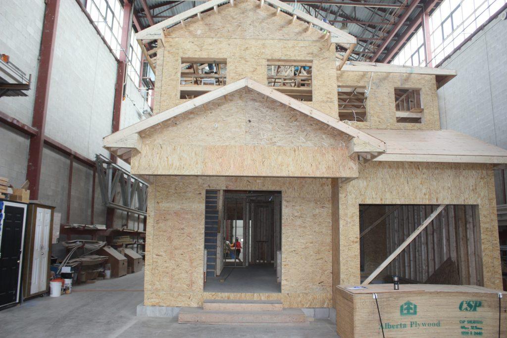House Framing - LiUNA Local 183 Training Centre