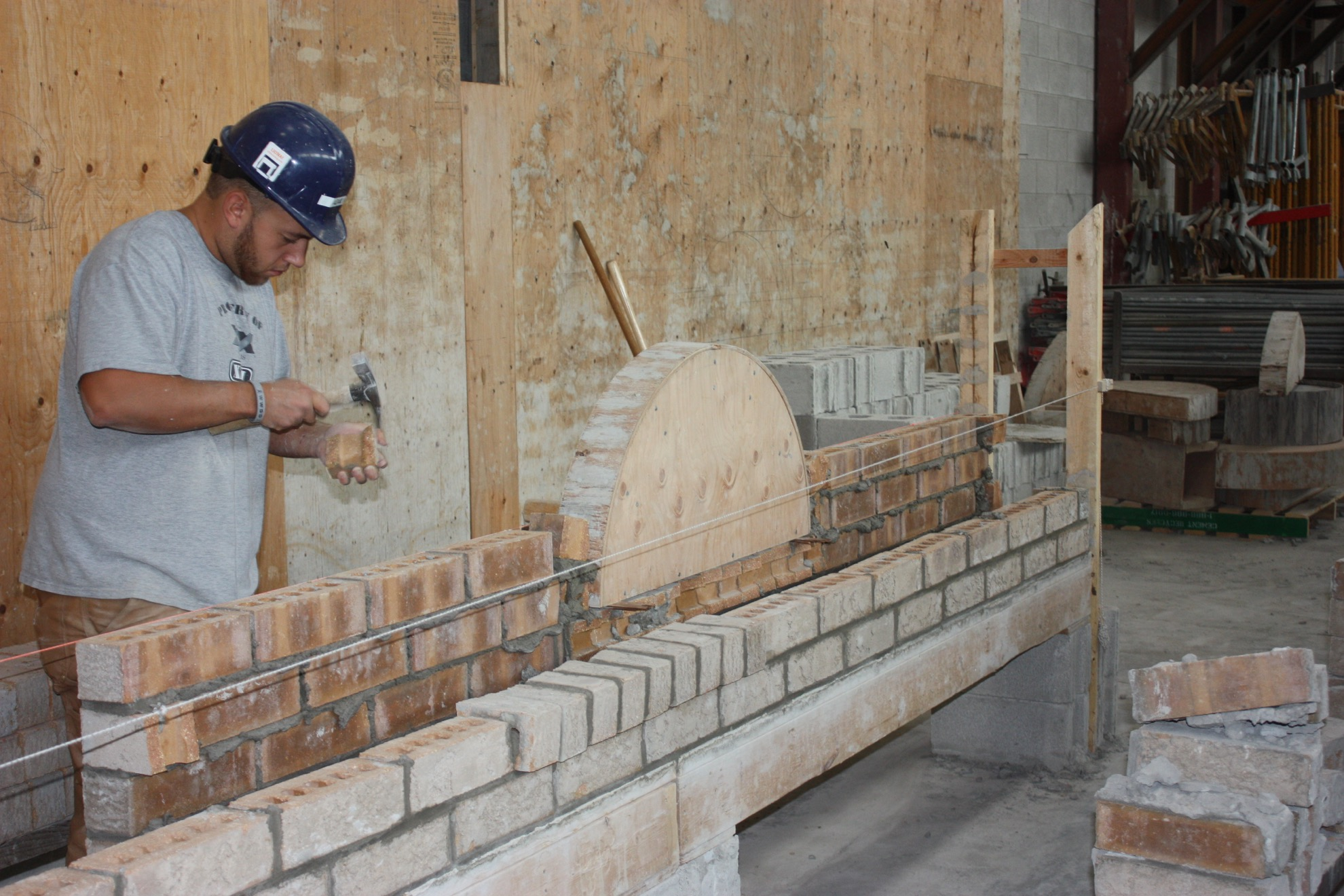 preparation for bricklaying training Developed with the assistance of local tradespeople and contractors, this  program will prepare you to enter the masonry trade this one-semester program .