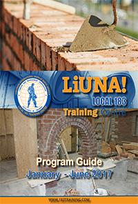 Homepage Liuna Local 183 Training Centre