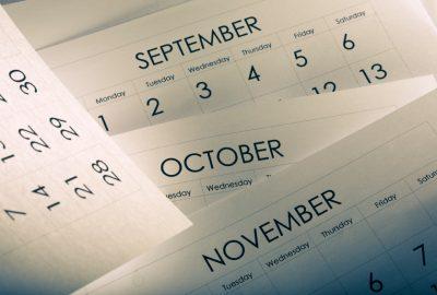2017 Program Dates